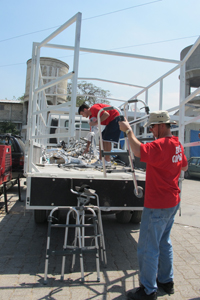 Firehouse subs team visits haiti 1