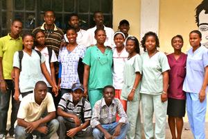One of hope for haiti's public health teams
