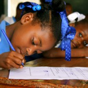 Testing is in full swing at Hope for Haiti schools all over the south