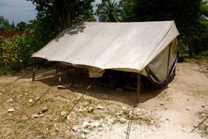 The standard post quake classroom