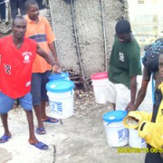 Distribution of Hope for Haiti Survival Buckets
