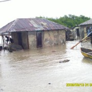 Flooding in Aquin.