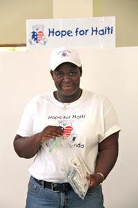 Nurse rachel explains the hope for haiti cholera prevention kit