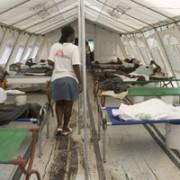Inside the Cholera Tent