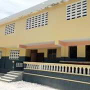 Dominique Savio Secondary School repaired by Hope for Haiti post-earthquake