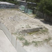 Land where the Dominique Savio Primary School use to stand and where Hope for Haiti will be rebuilding