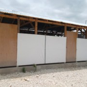 Temporary Classrooms at the St. Francois de Sales primary and secondary school