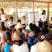 Ravine Sable Community Needs Assessment with School Director Rode Petit-Frere & Hope for Haiti