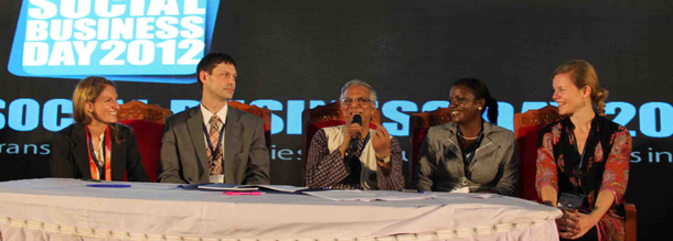 Professor Muhammad Yunus Explains the Partnership.