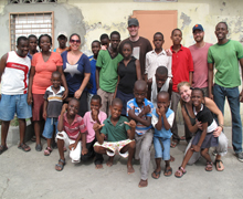 Group shot of the orphanage.