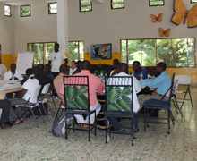 School directors from our partner schools gather for the 2nd annual Hope for Haiti School Directors' Meeting