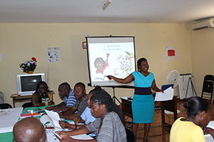 Instructor Yves Bataille explains reading and writing comprehension.