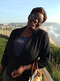 Dr nazaire in california for the presentation ceremony.