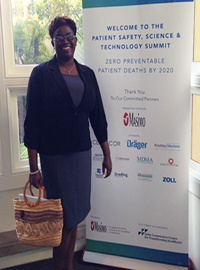 Dr Nazaire participated in the Patient Safety Summit.