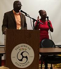 Marleen introduces David Tilus, President of GAFE.