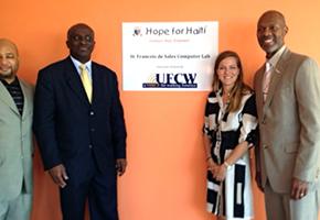 Members of Hope for Haiti