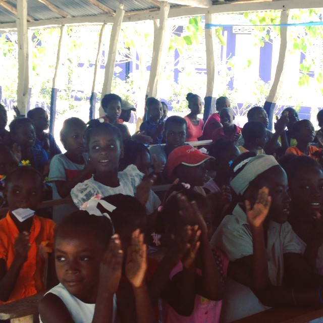 Hope for haiti is ready and excited for another great week of summer camp! #hopeforhaitifl #haiti #connecthealempower #summerinhaiti #sustainablecommunities #haitichildren #education