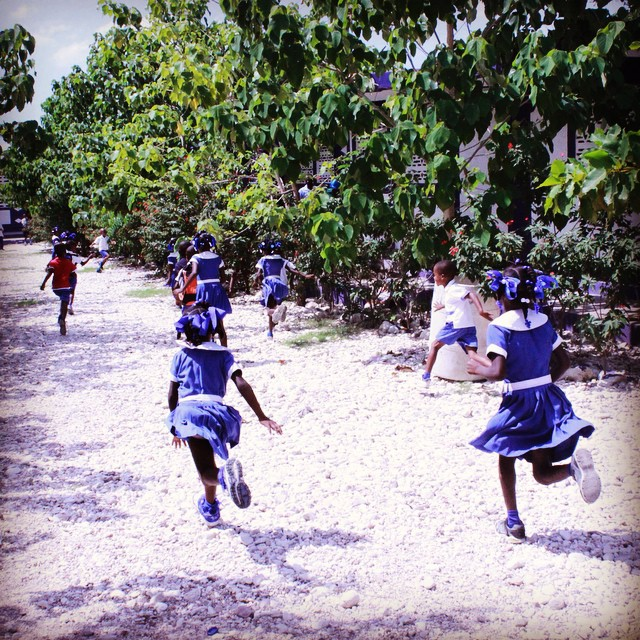 Don't be late! school has begun in #haiti !! #hopeforhaiti #connecthealempower #education #backtoschool