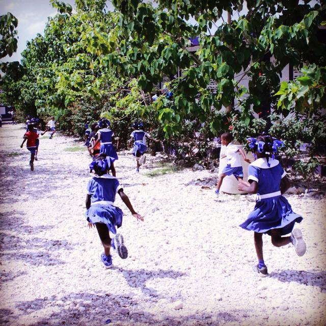 Don't be late! school has begun in #haiti !! #hopeforhaiti #connecthealempower #education #backtoschool