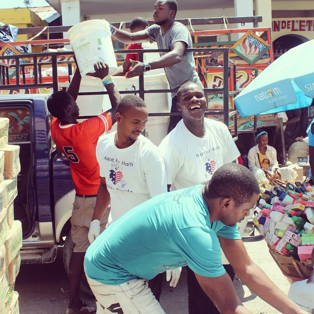 It's a busy day in the market today! we are picking up supplies like bleach, soap, and generator fuel for one of our partners. they provide a home for over 400 residents including a warm place for orphans with severe physical and mental disabilities. we are so privileged to be able to contribute to the selfless work the sisters at this site do everyday. #hopeforhaiti #haiti #connecthealempower #everybodydeservesahome #selflessacts