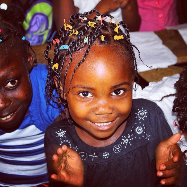 Happy weekend! someone in #haiti is smiling because of you! #hopeforhaitifl #hopeforhaiti #smiles #tgif
