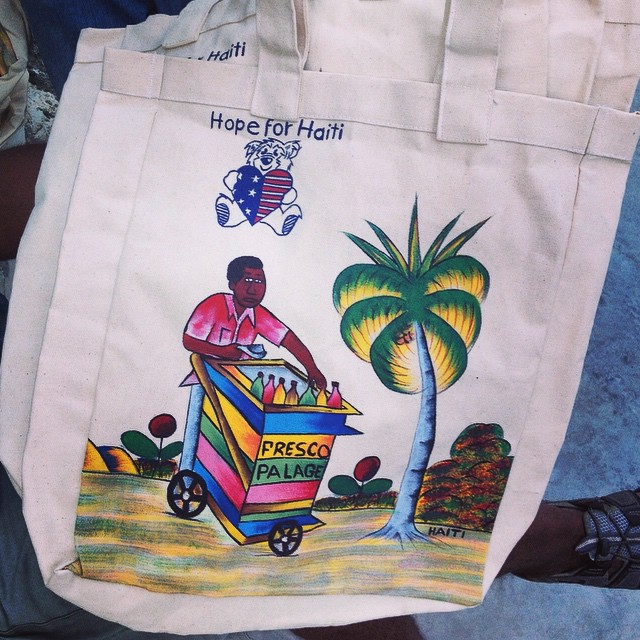 We love local artisans! our neighbor painted these canvases by hand, aren't they beautiful?! #hopeforhaiti #madeinhaiti #fresco #localimpact