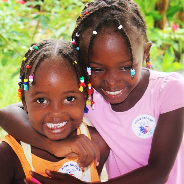All smiles at our clinic : ) #hopeforhaiti #haiti #healthyhaitians #smile #ayiticherie