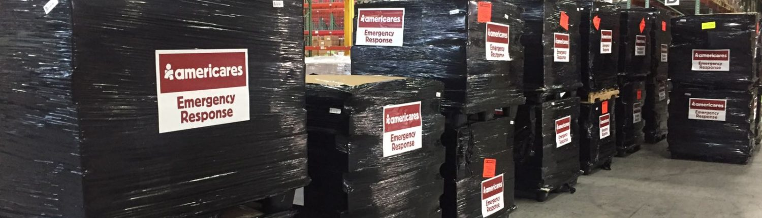 Americares shipment being prepared after hurricane matthew