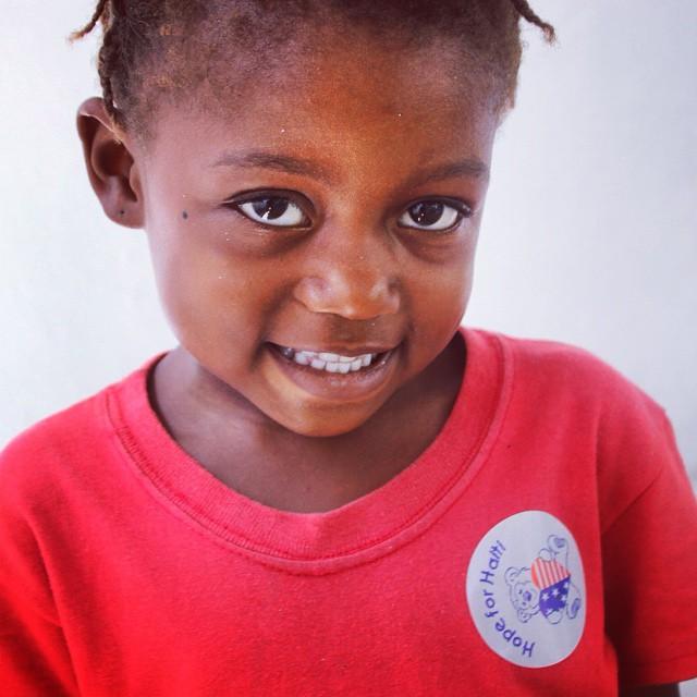 Smile! #timoun #haiti #hope