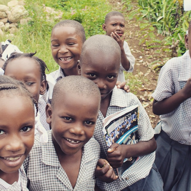Wishing everyone a happy and healthy weekend from #haiti!! #hopeforhaiti #timounkontan