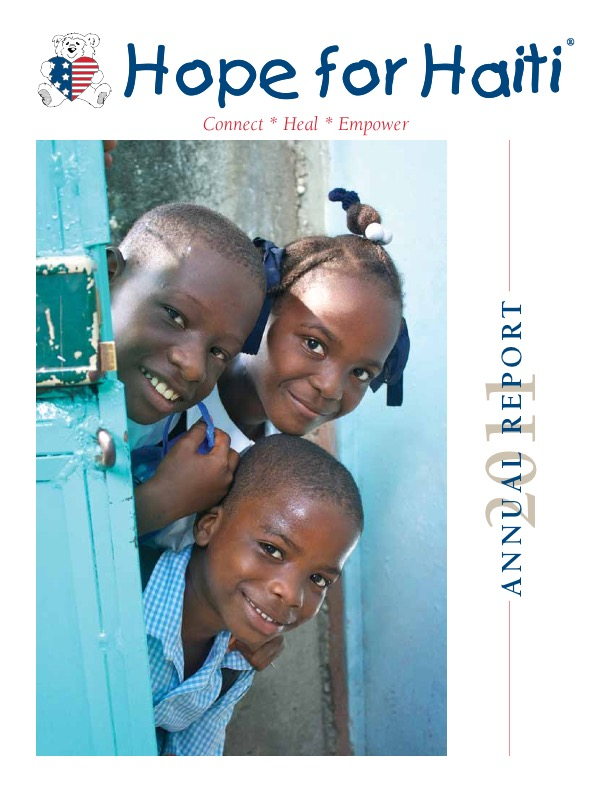 2011hopeforhaitiannualreport