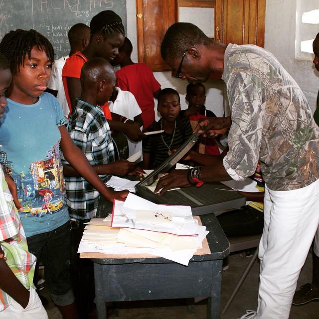 Art class! #haiti #madeinhaiti #hopeforhaiti