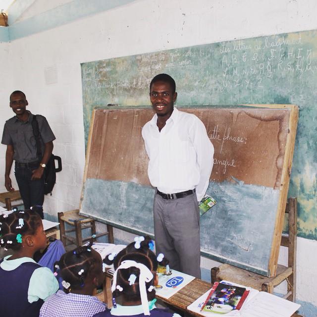 Inside a rural classroom! #haiti #hopeforhaiti #education #schooliscool