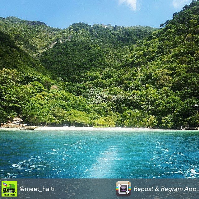 We love this picture from @meet haiti ! there is are so many positive things going on in this beautiful country start following them now to see what haiti's got! #haiti #hopeforhaiti #water #caribbean #tourism #haitigotit #rethinkhaiti #regram #repost