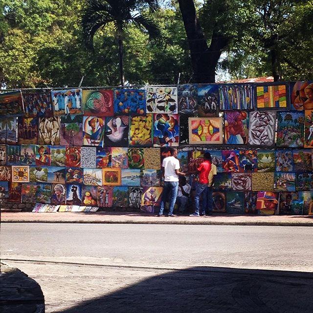 Spotted! street art in port au prince. #madeinhaiti #hopeforhaiti