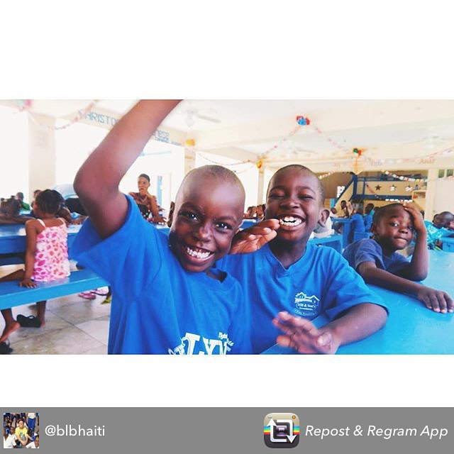 Love how everyone is getting ready to go back to school! #schoolrocks #educationforall #haiti #hopeforhaiti @blbhaiti