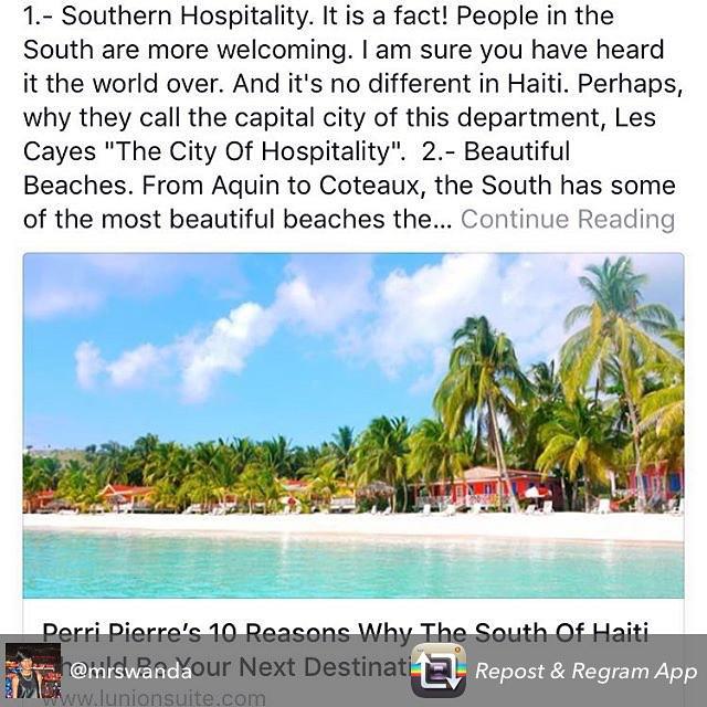 Just a few reasons to love the south! #haiti #hopeforhaiti #rethinkhaiti