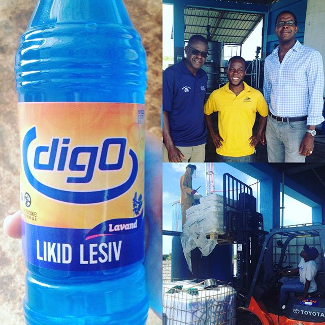 We support local businesses! this #blackfriday we encourage you to do the same. #digo is a #madeinhaiti cleaning product that is generating income for the local market and offering jobs to the local community.