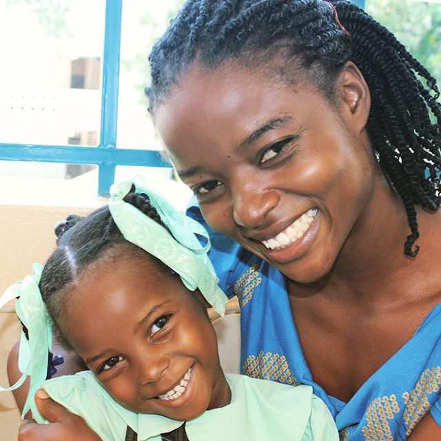 By investing in hope for haiti, you're investing her education and her family's future. #haiti #hopeforhaiti #givingtuesday #swflgives