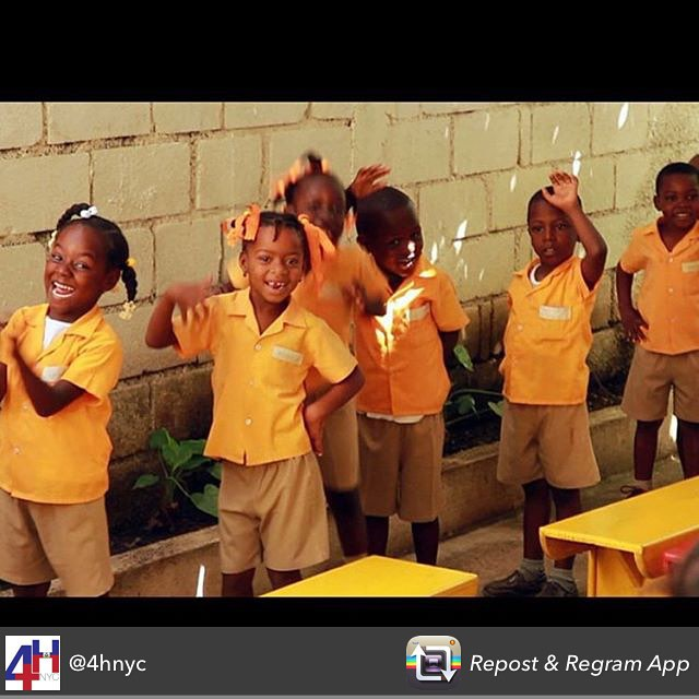 We love following other organizations doing great work in #haiti! keep up the good work @4hnyc