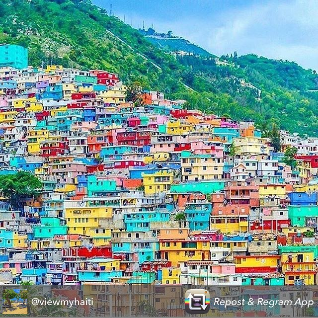 The view that never gets old, great shot @viewmyhaiti #ayiticheri #hopeforhaiti