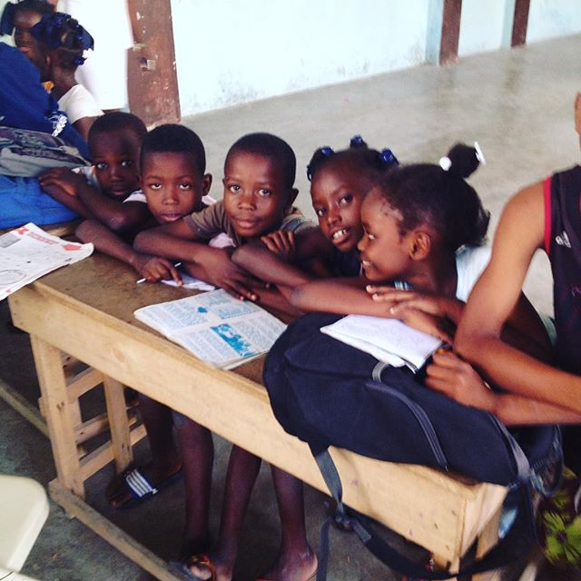 Happy monday! wishing all our students a successful week!!! #haiti #hopeforhaiti #education #monday