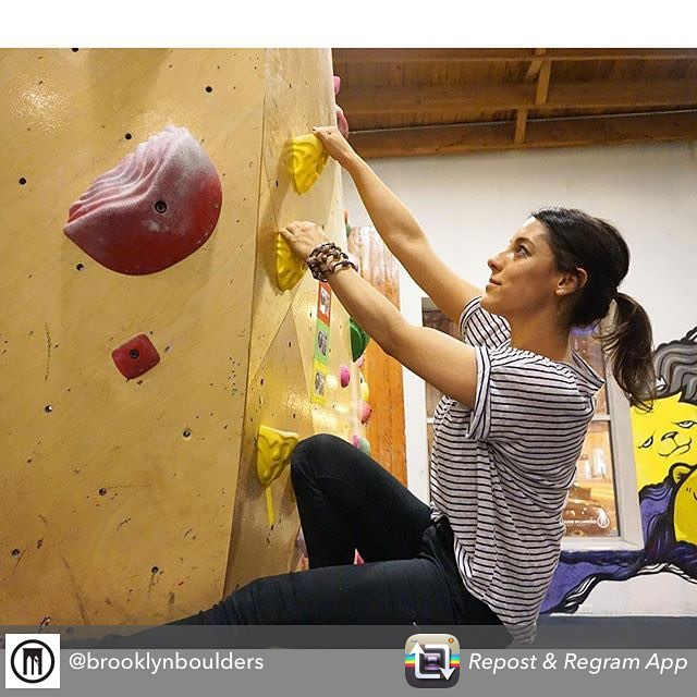 How awesome does our jewelry look in action?! thanks @brooklynboulders for the support! #haiti #hopeforhaiti #climbhigh