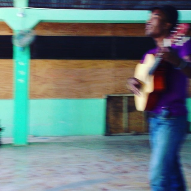 Haiti's artists are talented, original and passionate about their music. our team met sonson while he was playing at #portsalut one day. he writes his own music and sings classic haitian troubadour songs. we hope you enjoy his music as much as our visitors did! #haiti #hopeforhaiti #music #creole #songs