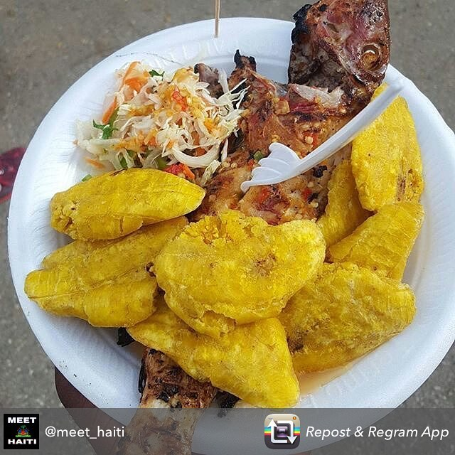Haitian food is yummy! #rethinkhaiti