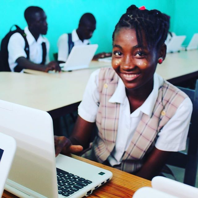 Students today, leaders tomorrow! with access to technology, anything is possible! we are so excited to be distributing 1,000 @endlesscomputers to schools, universities and community centers throughout southern haiti. #haiti #hopeforhaiti #education #computer #endless