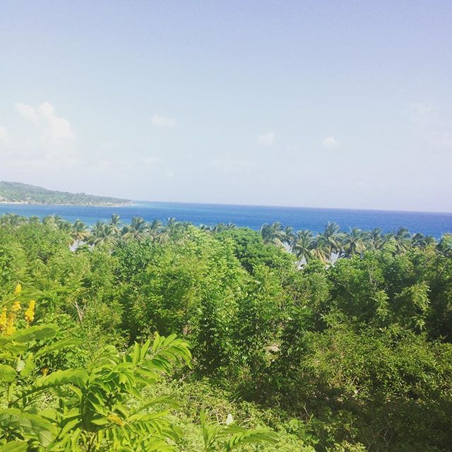 Rise and shine, it's another beautiful day in #haiti!