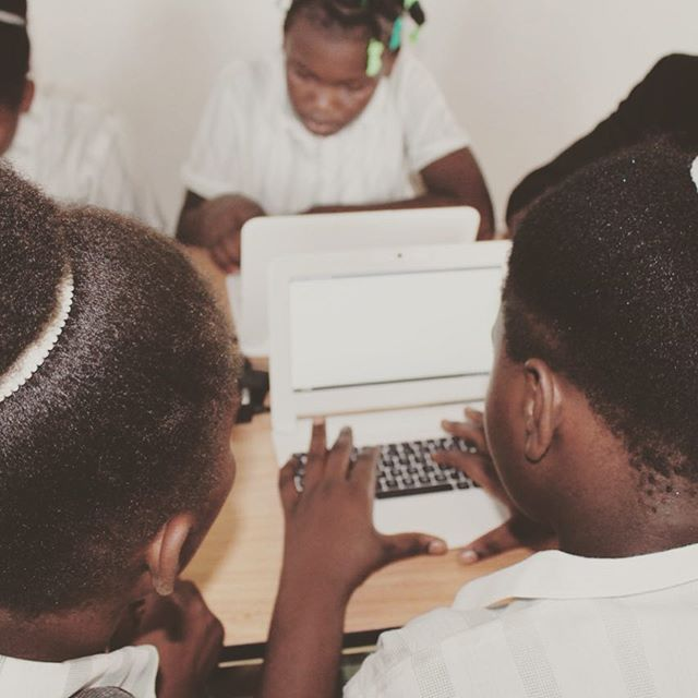 #thefuture #haiti #hopeforhaiti #computersopendoors