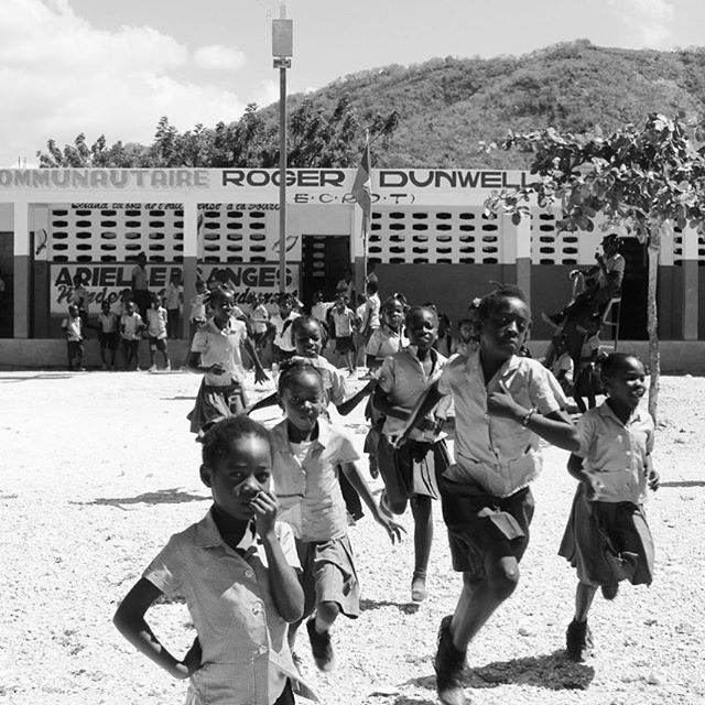 Here's to a great first week of school to all our students in #haiti! #backtoschool #fall