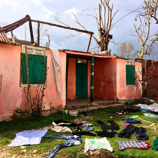 Please don't forget #haiti! our team on the ground continues to visit, help and support our partners in and around les cayes. but people are still sleeping in houses without roofs, have no access to clean water and are in need of your support #hopeforhaiti #hurricanematthew #haiticantwait #givenow